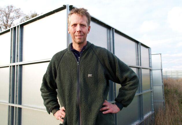 Anders Lunneryd, ordförande i Ekologiska lantbrukarna.