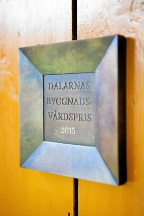 Sammilsgården fick Dalarnas byggnadsvårdspris 2015.