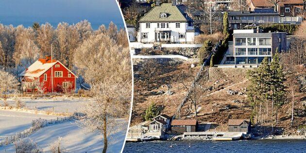 Fastighetsskatten slopades – landsbygden förlorade