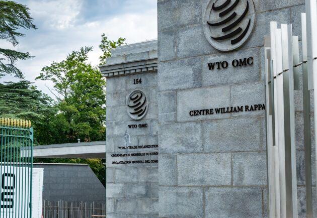 Världshandelsorganisationen WTO har sitt huvudkontor i Genève i Schweiz.