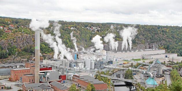 Norske Skog nära konkurs