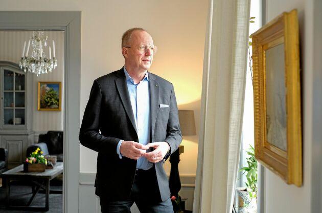 Anders Källström avgår formellt som VD för LRF sista maj. Den här stämman på Sånga Säby blir hans sista som VD för LRF.