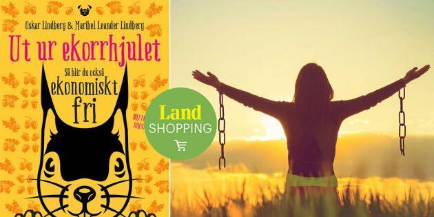 6 effektiva tips mot akut köpsug – ny bok om ekonomisk frihet