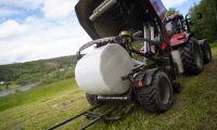 Antal lager plast påverkar mögel i vallfoder