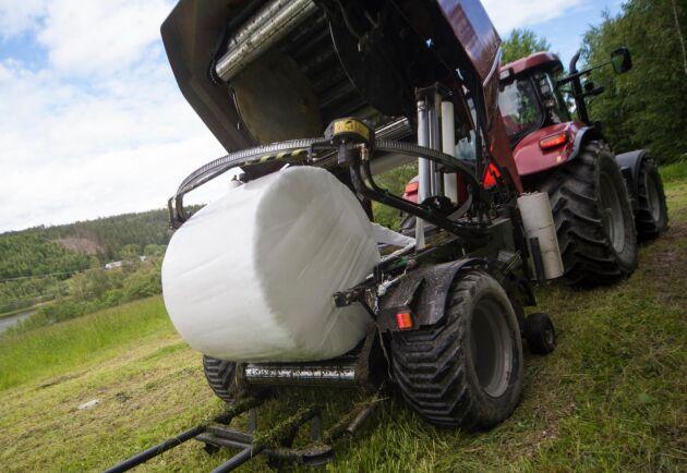 Skördetidpunkt, hantering och antal lager plast spelar roll för den hygieniska kvalitén på inplastat vallfoder.