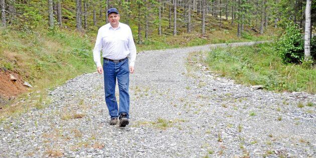 Dyr skogsbilväg ändå lönsam