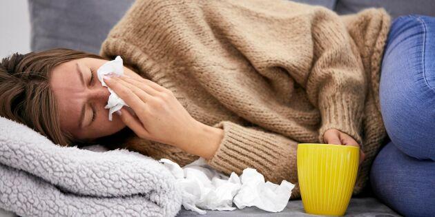 Därför drabbas du av förkylning – medan andra slipper!