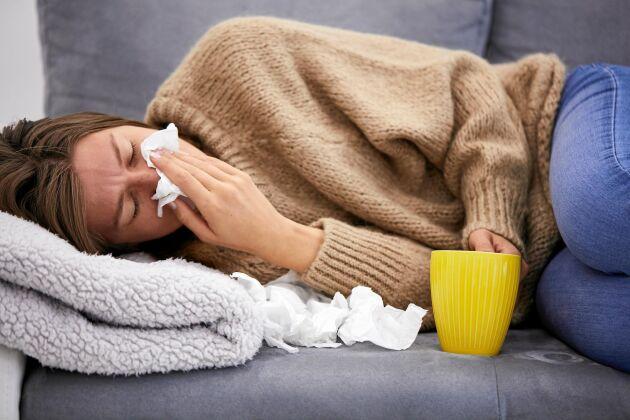 Somliga upplever att de drabbas mer och oftare av förkylning än andra.