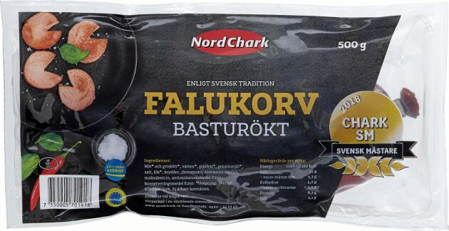 En av Sveriges godaste falukorvar kommer från Nordchark. Testa!