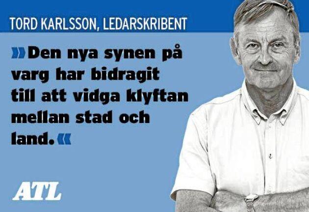 ATL:s Tord Karlsson tycker att det är dags att dra gränsen och betrakta vilda djur som vilda.