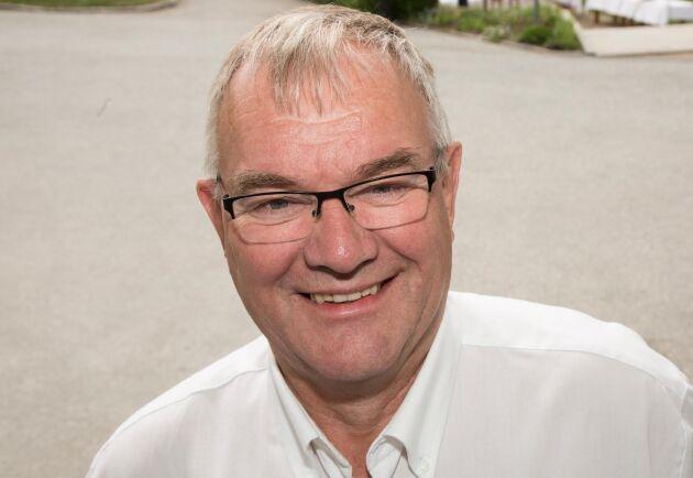 Åke Hantoft, ordförande Svensk Mjölk.