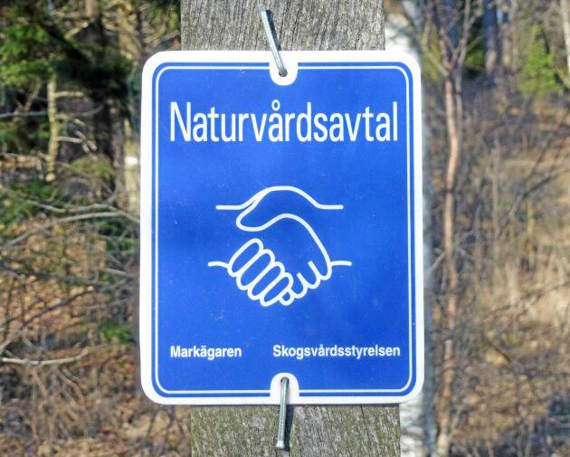 Bland markägarna är naturvårdsavtal det mest populära formella skyddsformen, men också den där de är minst nöjda med ersättningen.