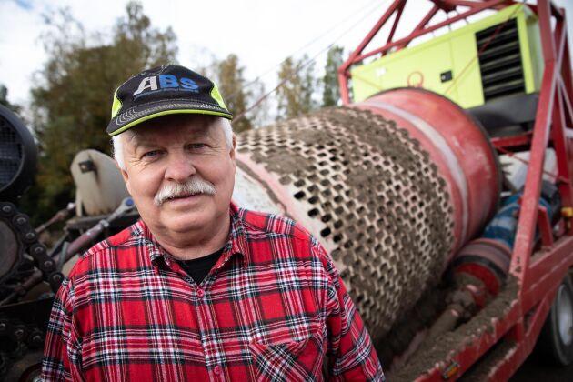 Rolf Johansson har länge funderat över hur arbetet ska kunna effektiviseras.