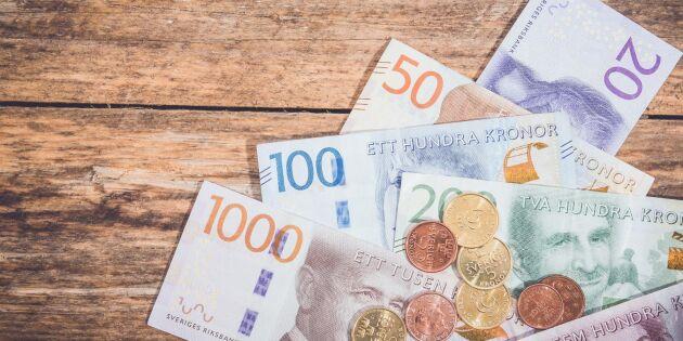 Forskare förutspår: Då blir Sverige kontantfritt
