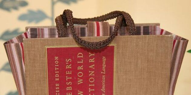 Cool handväska av bokomslag
