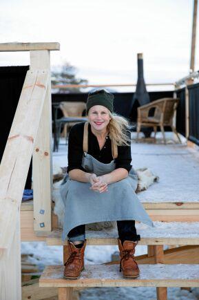 Malin blir peppad av framtidstron och sammanhållningen bland företagare i Järvsö.