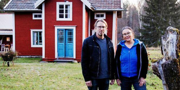 """Maria har vunnit pris för renoveringen av Dan Anderssons stuga: """"Han hann aldrig göra klart"""""""