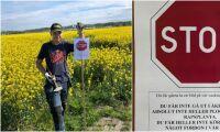 Selfie-stopp i rapsen - nu har gården fått nog