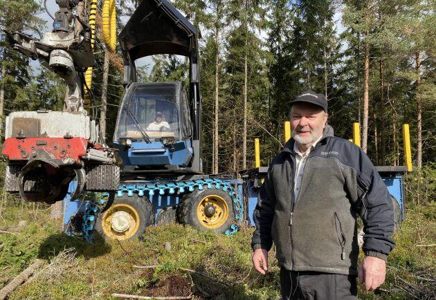 Uppfinnaren Christer Lennartsson är övertygad om att hans maskin kommer att slå ut alla andra.
