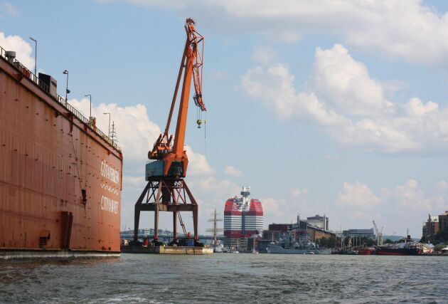 Göteborgs hamn är fortsatt öppen som vanligt.