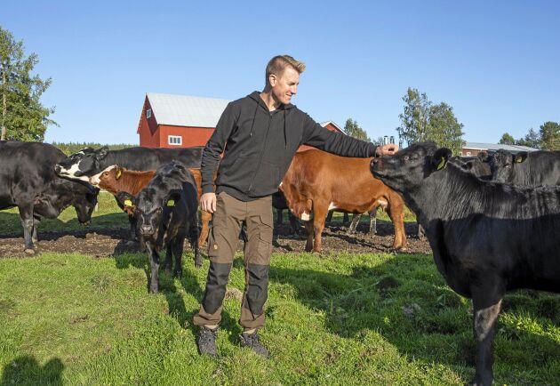 Andreas Bergmark är ekologisk nötköttsproducent och driver Bergmarks gård. Han är delägare och styrelsemedlem i nystartade Burträsk slakteri AB. Hans fokus är djurvälfärd och har idag bara 25 km till slakteriet, mot tidigare 160 km.