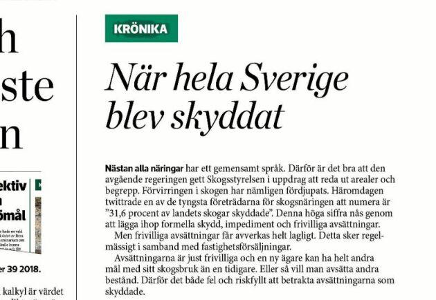 Leif Öster räknar fel i sin krönika, anser debattören.