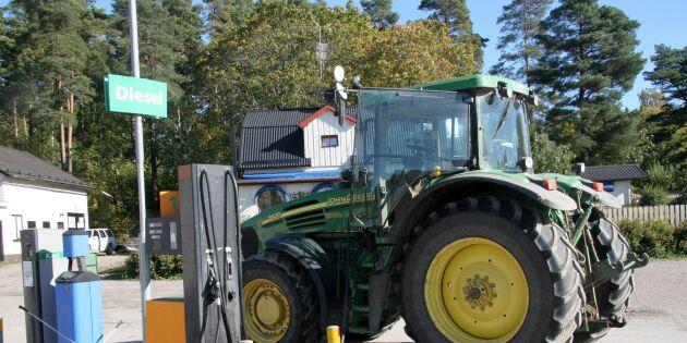 Naturskyddsföreningen vill ta bort dieselåterbäring