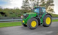 154 nya traktorer i februari
