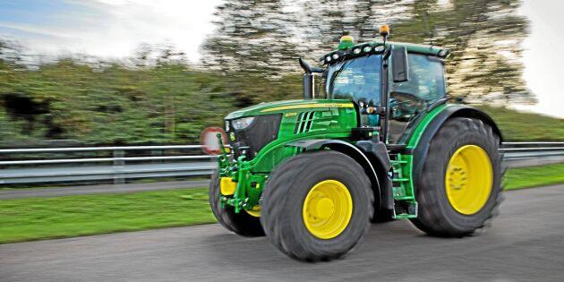 Halvårsskifte i traktorstatistiken