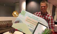 Skogsentreprenör prisas för sitt driv