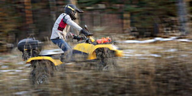Ny fordonsskatt för fyrhjulingar och skotrar