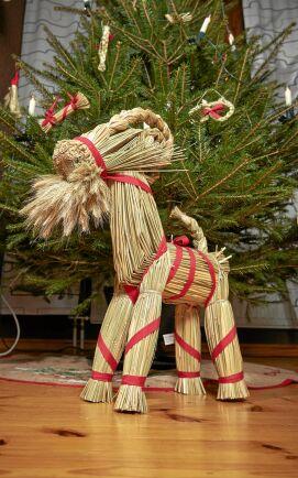 Den klassiska julbocken med frodigt hakskägg.