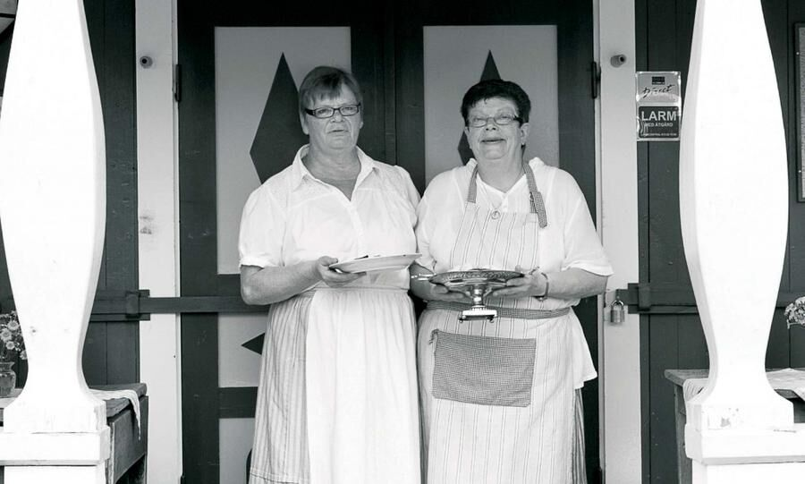 Land.se skriver om Yvonne Gustavssons och Gunilla Daleljungs traditionella motti.