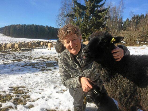 Karin Granström på Hushållningssällskapet har drivit länsstyrelsen i Värmlands fårprojekt.