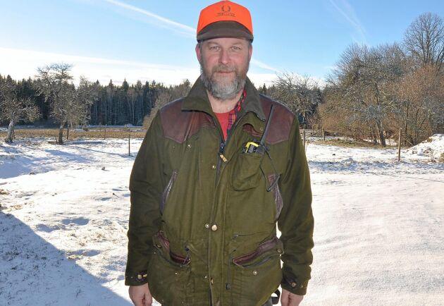 Christer Eriksson anser vildsvinsjakten måste skiljas från den ordinarie jakten för att få effekt. Arkivbild.
