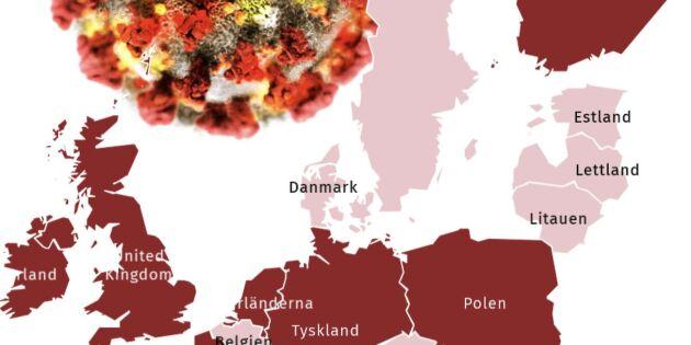 Så tacklar EU-länderna coronapandemin