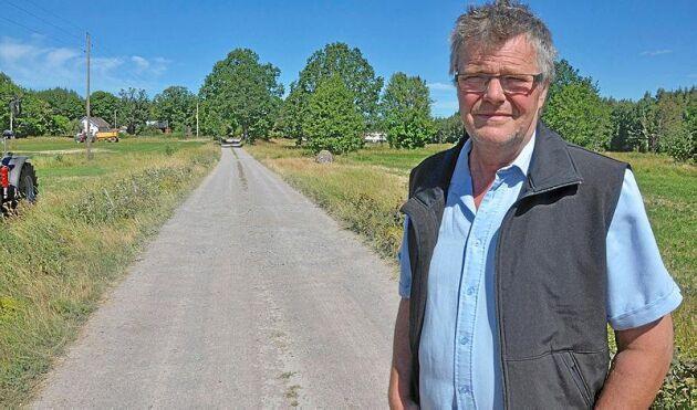 Håkan Lundgren, ordförande i LRF Sydost, vädjar till alla skogsarbetare att vara oerhört försiktiga.