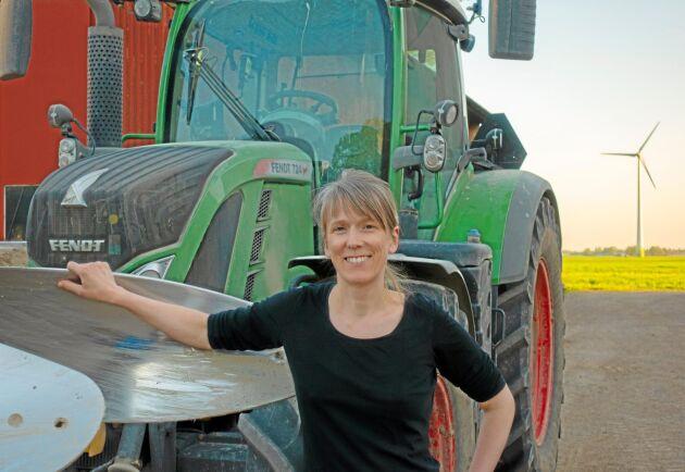 Marianne Westmans familjeföretag har en stark miljöprofil sedan tidigare med ekologisk växtodling.