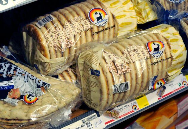 Konsumenter har redan börjat bunkra Polarbröds populära bröd på en del håll.