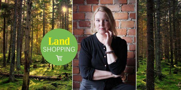 Svensk skog säljer! Stinas träprodukter är en succé