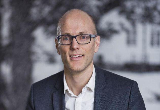 Erik Pihlo, CFO (chef för ekonomi och affärsstöd) på LRF.