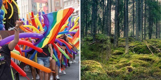 Pride-veckan stöds av Skydda Skogen
