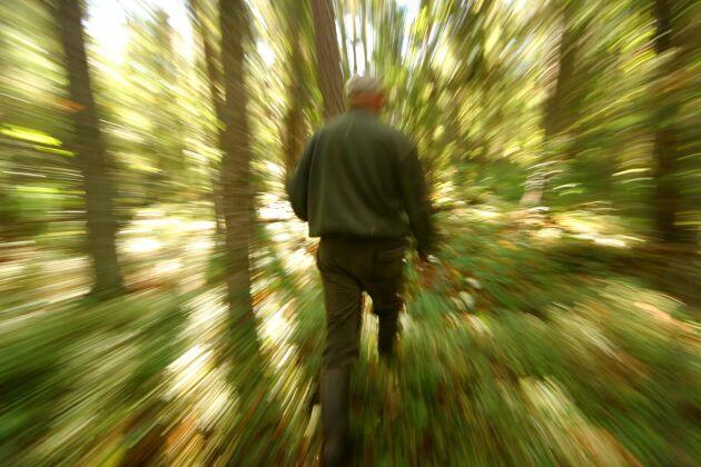 Vad händer med den enskilde markägarens lust för att äga och sköta skog hållbart när samhällsdebatten pendlar snabbt och de politiska besluten är kortsiktiga?