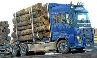 Ökat sug efter Volvos lastbilar