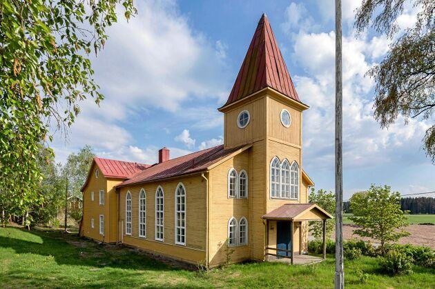 Din nya lya? Sandby Missionshus, med anor från 1800-talet, är redo för nya ägare.