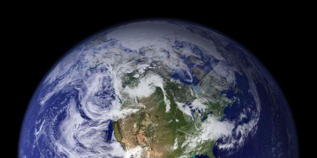 Miljöchocken: I morse tog jordens resurser slut för i år
