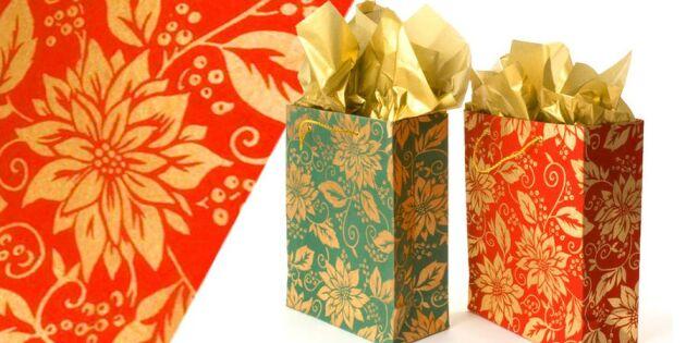 Så enkelt gör du fina presentpåsar!