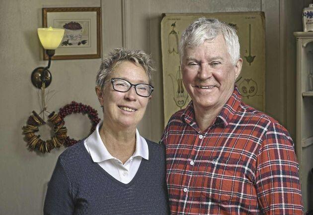 Britta och Kent Lindvall äger Treehotel i Harads.
