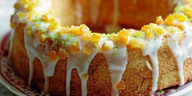 Mjuk apelsinkaka – smakar ljuvligt och är lätt att baka
