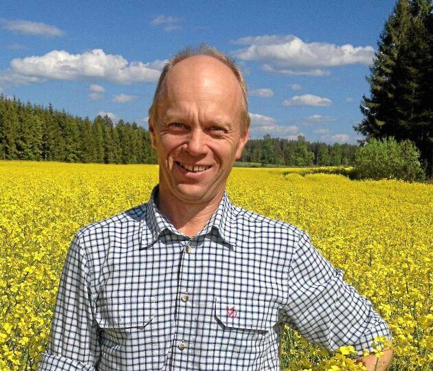 Per Ståhl, växtodlingsrådgivare på Hushållningssällskapet i Östergötland.